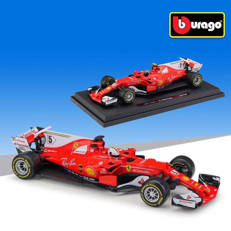 Ferrari F1 2017 Burago 1//18 Scale Diecast Model Car 18-16805 S Vettel
