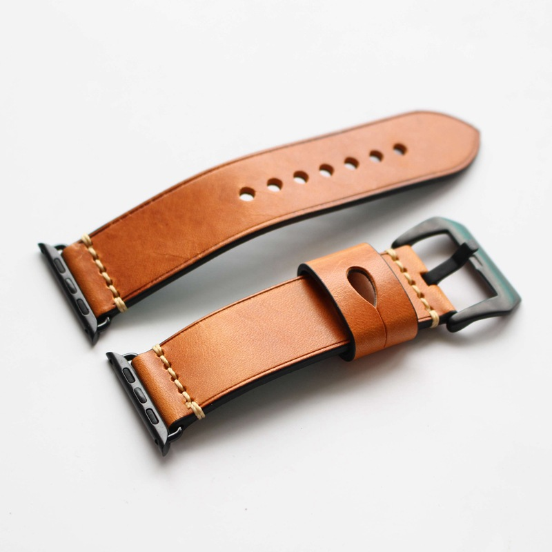 Watchband for Apple Watch 3 Band 42mm 38mm Genuine leather Exquisite Fashionable Style Bands for Iwatch Series 1 2 3 Strap New kakapi crocodile skin genuine leather watchband with connector for apple watch 38mm series 2 series 1 pink