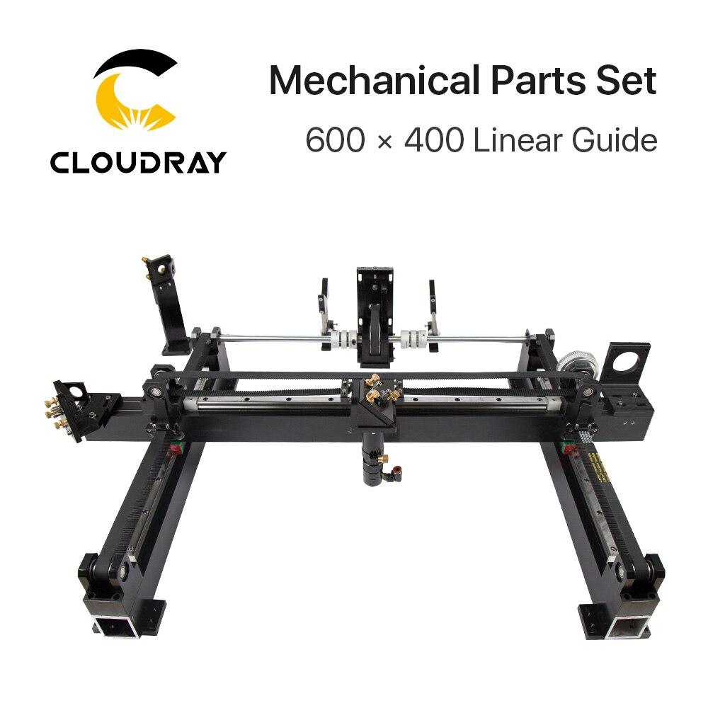 Pièces mécaniques ensemble 900mm * 600mm Kits Laser à tête unique pièces de rechange pour bricolage CO2 Laser 9060 CO2 Laser gravure Machine de découpe