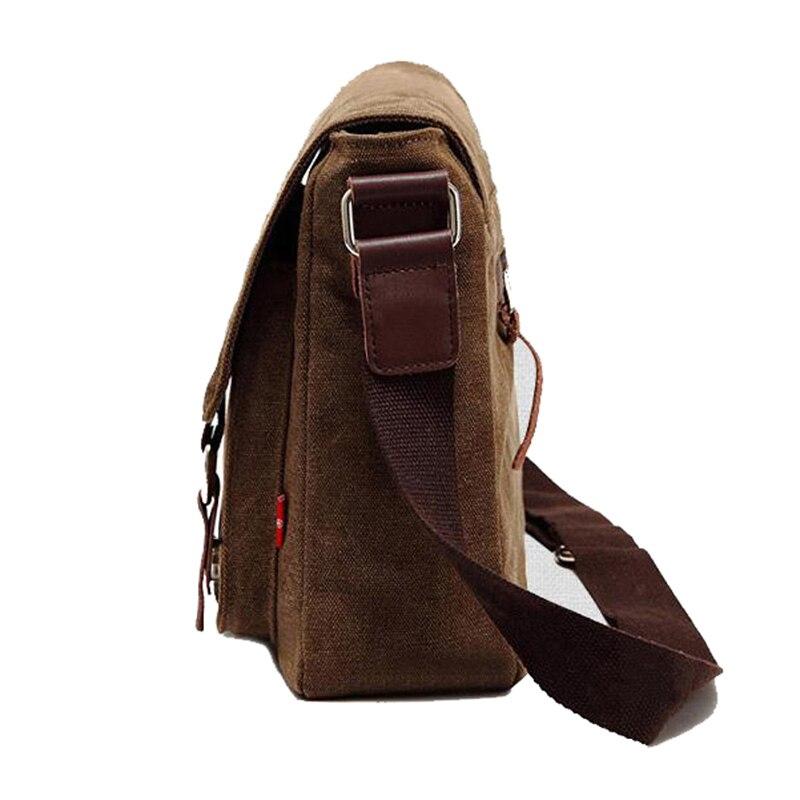 OZUKO hommes sac Vintage hommes toile Messenger sacs grande capacité voyage bandoulière sacs mode luxe Designer décontracté sac à bandoulière    3