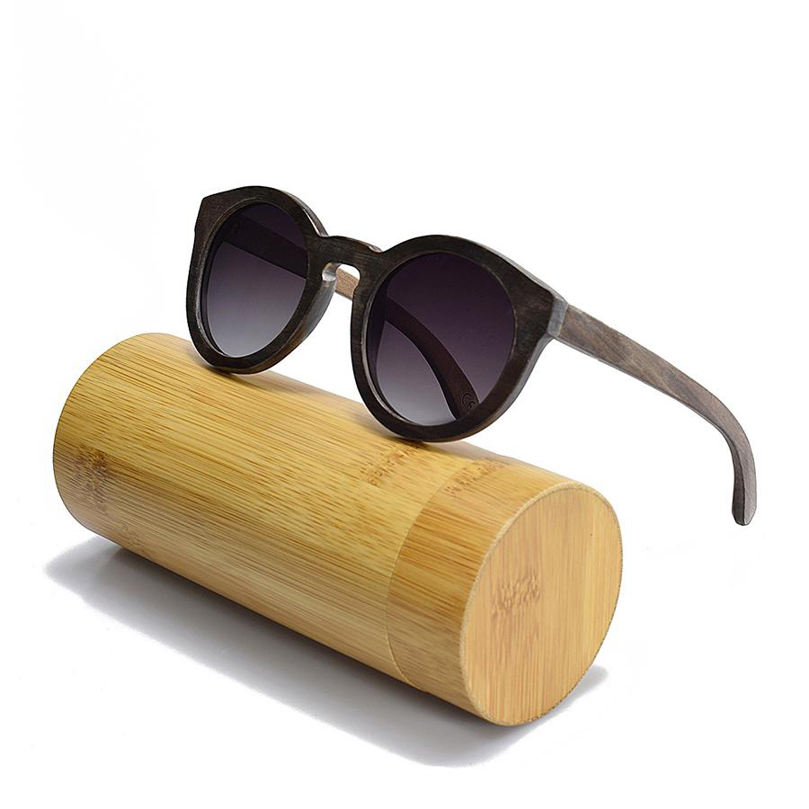 BEDATE real wood sunglasses full frame women summer cool sun glasses polaroid glasses G002 in Women 39 s Sunglasses from Apparel Accessories