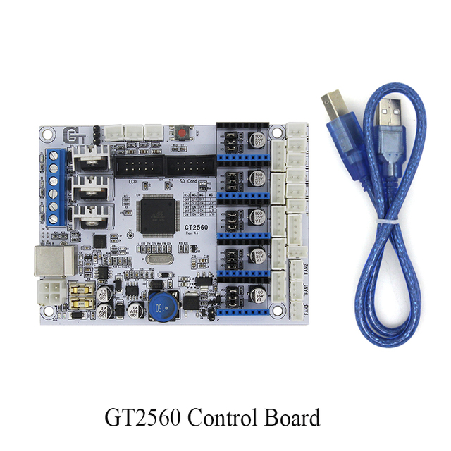 3D printer control board GT2560 Support Dual Extruder Power Than ATmega2560 Ultimaker 3d0233