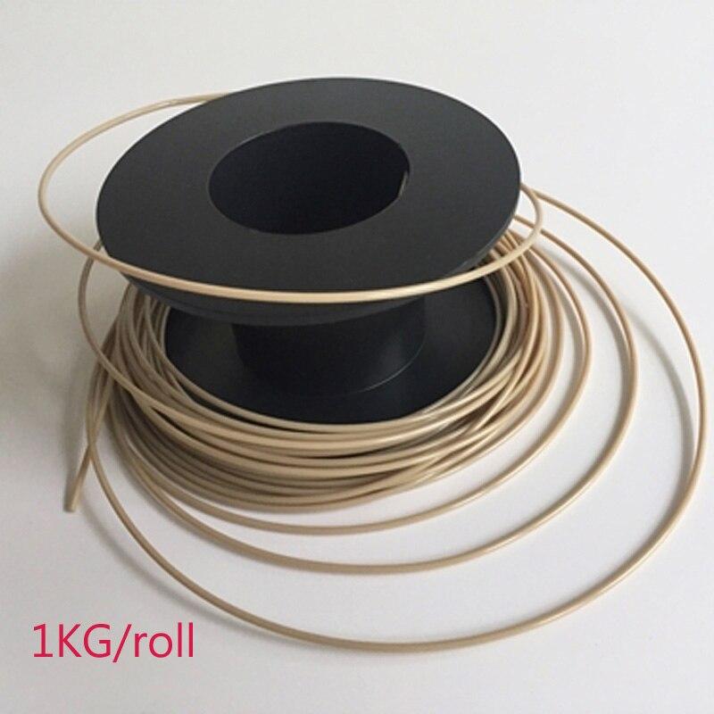 CreatBot PEEK 3d imprimante filament haute température filament 1 kg/rouleau Livraison gratuite