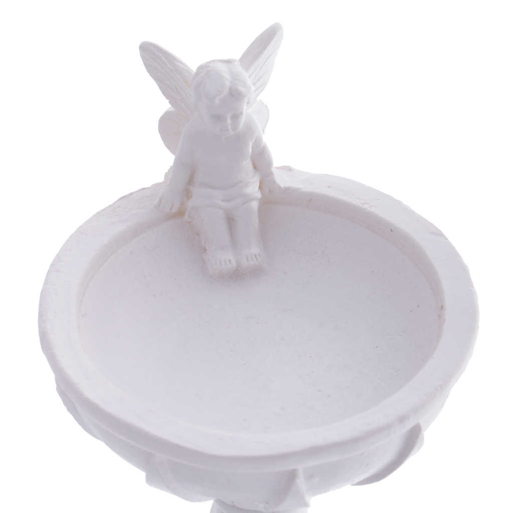 1:12 domek dla lalek miniaturowe żywicy fontanna do kąpieli dla ptaków bajki ogród wystrój klasyczne zabawki dla dzieci prezent urodzinowy dla dzieci lalki akcesoria