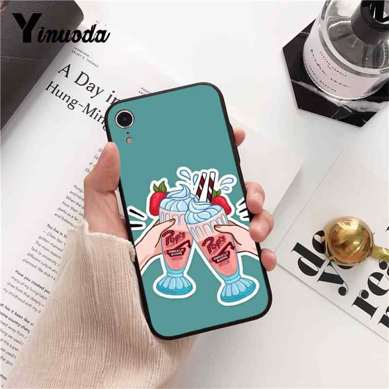 Yinuoda Riverdale South Side Serpents DIY Painted Phone Case for iPhone 8 7 6 6S 6Plus X XS MAX 5 5S SE XR Fundas Capa