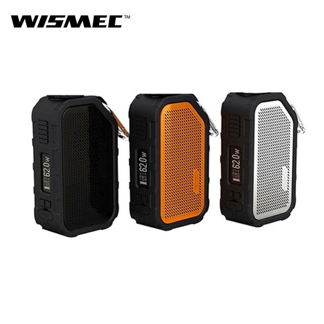 Оригинальный Wismec активный 80 Вт активный бокс мод Vape Bluetooth динамик водостойкий электронный сигаретный испаритель подходит AMOR NS танк