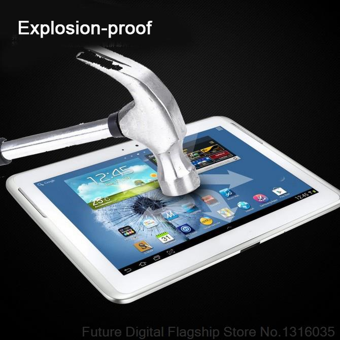 BINFUL Tempered Glass Screen Protector For Samsung Galaxy Tab 2 10 1 P5100 P5110 Note 10