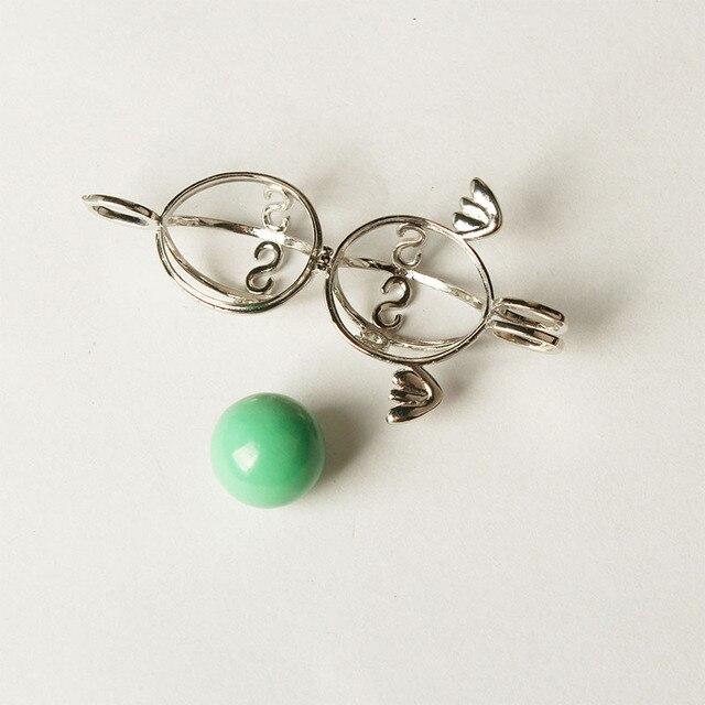 Pregnancy Necklace wish box Bola Harmony Ball DIY copper angel