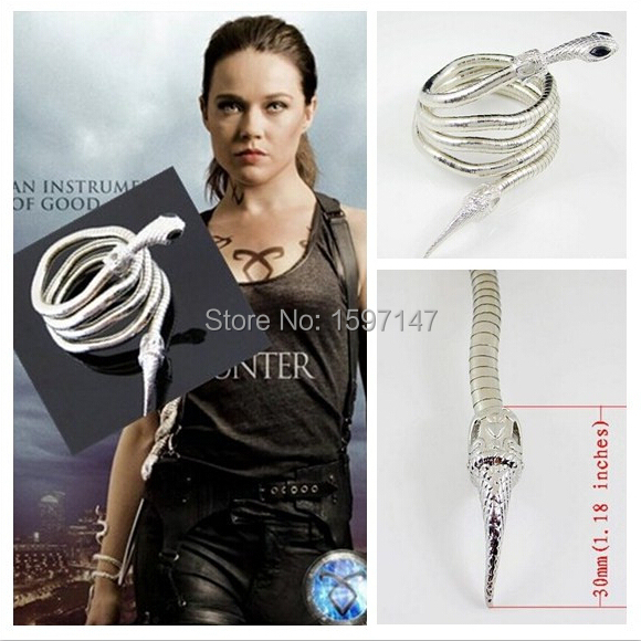 City of Bones Isabelle Lightwood's Electrum WhipSerpent Bracelet The - Fashion Jewelry - Photo 2