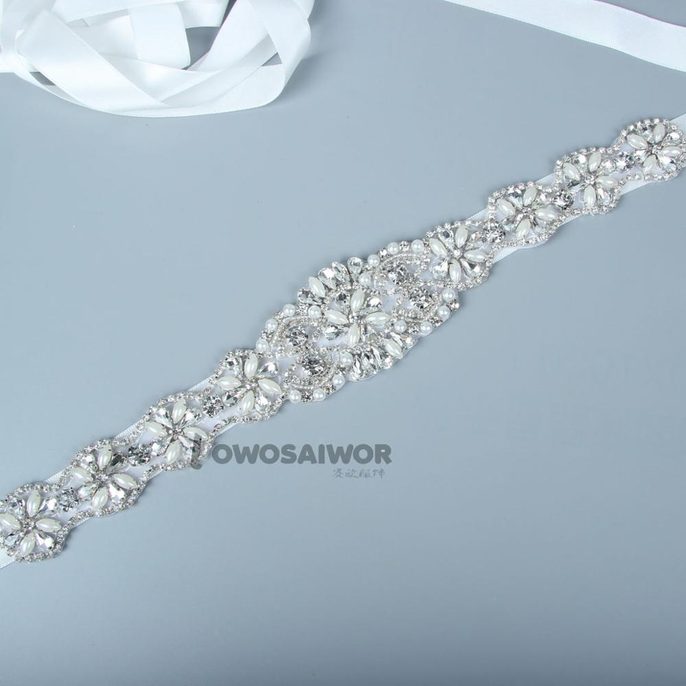 Luxury Gorgeous Rhinestones Belt Bridal Sash Bride Diamante  Crystal Wedding Belt For Bridal Dress Bridesmaids Dress