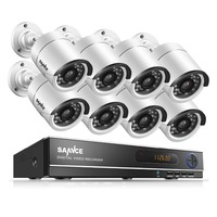 ANNKE 8CH CCTV System 960P AHD DVR 4PCS 1 3MP IR Weatherproof Outdoor Camera Home Security