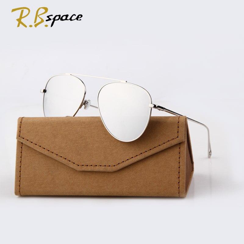 RBspace 2017 Pasang Baru merek Klasik kacamata fashion wanita - Aksesori pakaian - Foto 4