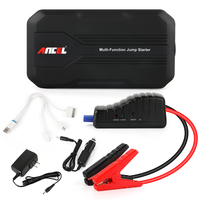 Ancel Car Jump Starter Auto Emergency Battery Charger Portable Booster Power Bank Mulit Function 12000mAh Battery