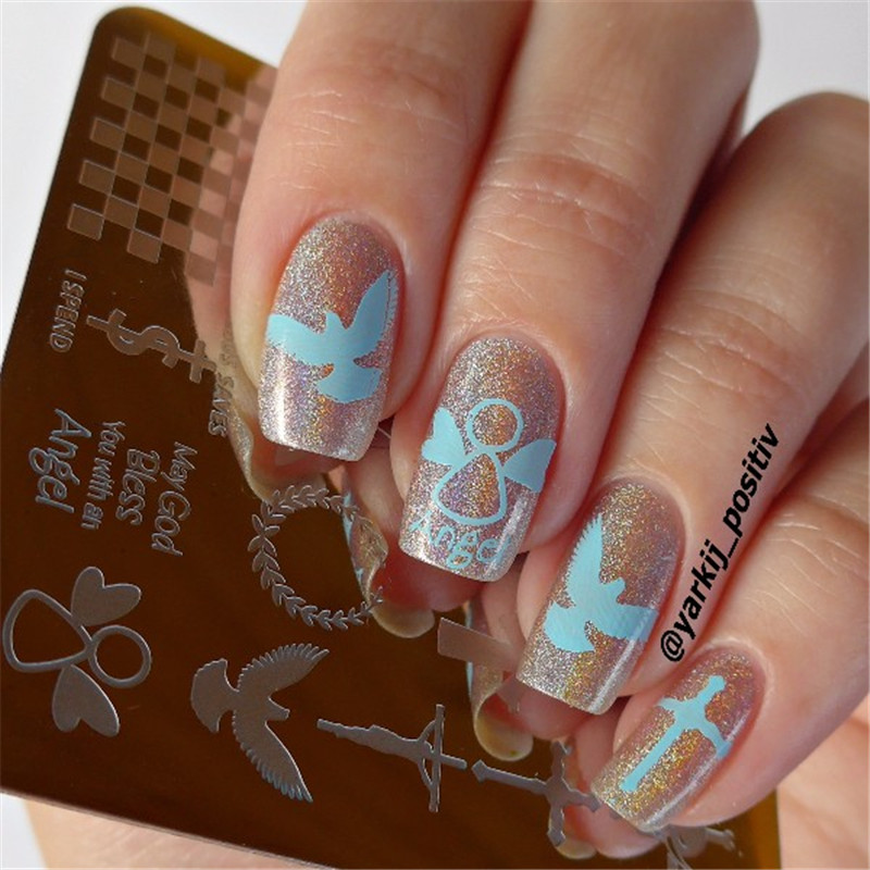 Contemporary Nail Cross Design Gallery - Nail Art Design Ideas ...