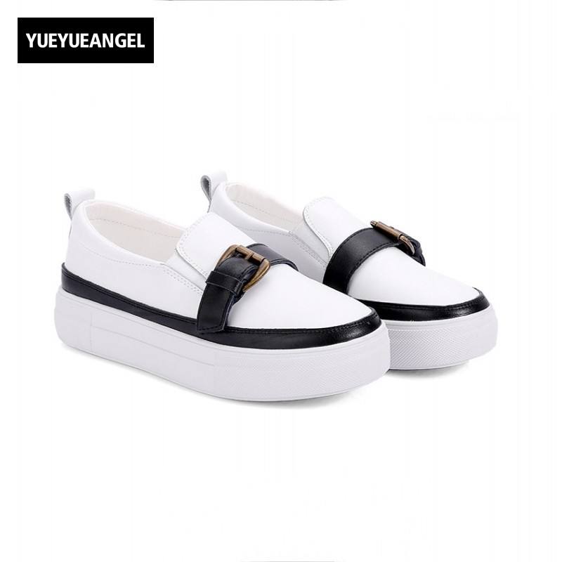 New Hot Sale Women Shoes Breathable Buckle Slip On For Women Comfortable Dress Shoes Genuine Leather White Colour Free Shipping new hot sale children shoes comfortable breathable sneakers for boys anti skid sport running shoes wear resistant free shipping