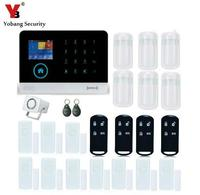 Yobang Security Alarm APP Control Home Burglar Security Wireless Wifi Gsm Alarm System PIR Motion Detector