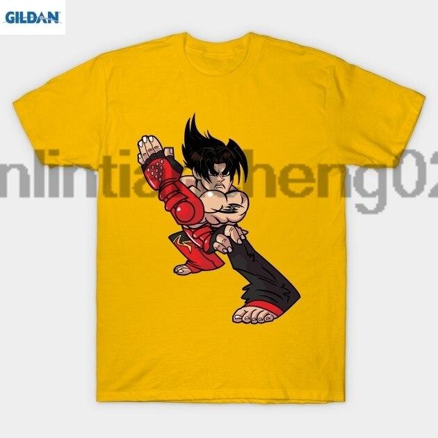 gildan jin kazama tekken 3 t shirt in t shirts from men s clothing