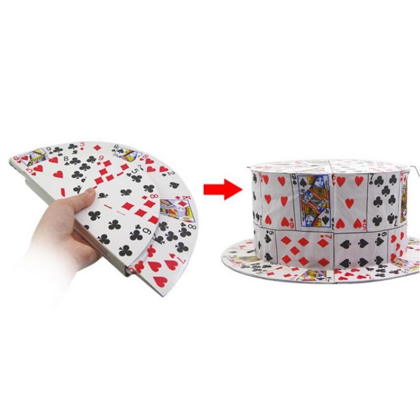 Carte à chapeau Eragon étape tours de magie magia magie jouets au détail et en gros