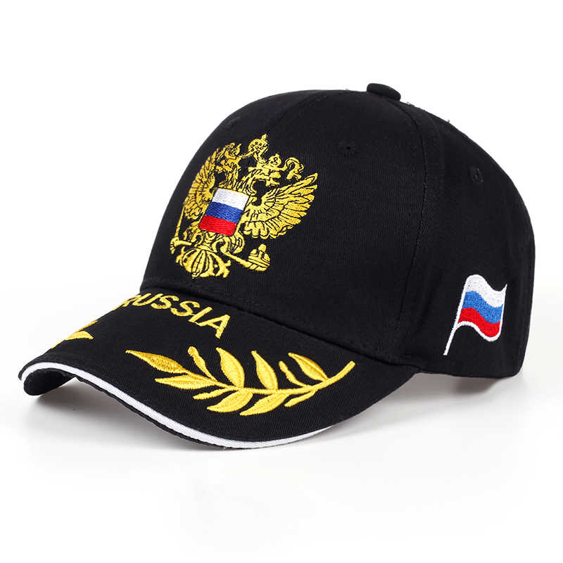 Fashion Baseball Hat Leisure Cap Embroidery Russian Emblem Snapback Unisex Baseball Cap For Woman & Man Snapback Cap Sport Hat