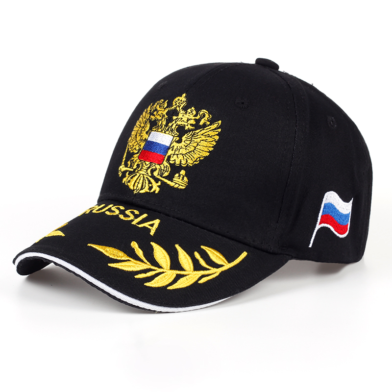Fashion <font><b>Baseball</b></font> Hat Leisure <font><b>Cap</b></font> Embroidery Russian Emblem Snapback <font><b>Unisex</b></font> <font><b>Baseball</b></font> <font><b>Cap</b></font> For Woman & Man Snapback <font><b>Cap</b></font> <font><b>Sport</b></font> Hat image
