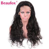 Beaufox Lace Front Human Hair Wigs Brazilian Hair Wigs For Black Women Non Remy Human Hair