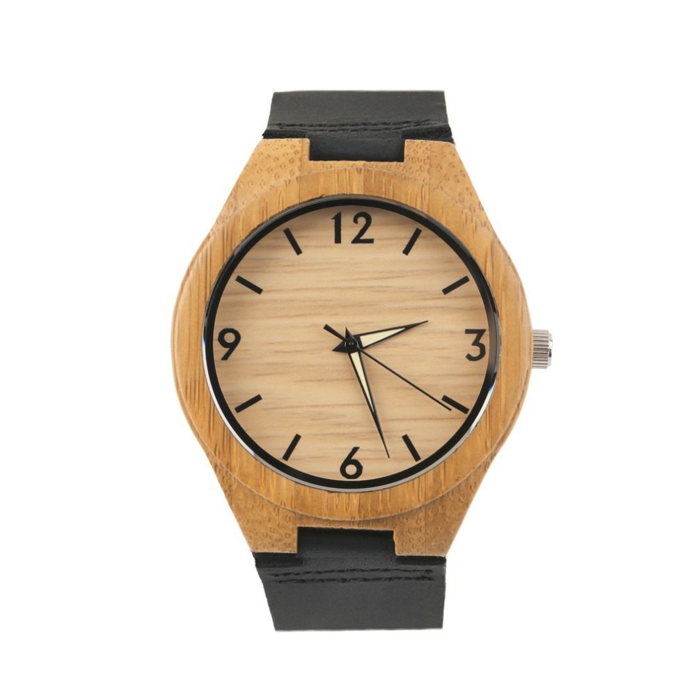Wooden Men's Quartz Watches Couple Watch White Pointer Watches Dropshipping Wholesale Relogio