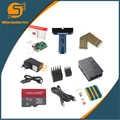 10 in 1 Raspberry Pi 3 + Custodia in ABS + 8 GB SD Card + adattatore GPIO + 2 pcs dissipatore di calore + cavo HDMI + 2.5A adattatore di Alimentazione con interruttore del cavo per il pi 3