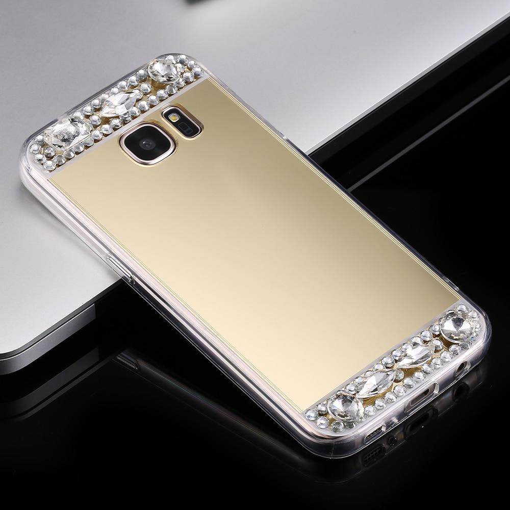FLOVEME Mirror Cover Case för Samsung Galaxy S6 S7 Edge S8 Plus A5 - Reservdelar och tillbehör för mobiltelefoner - Foto 4