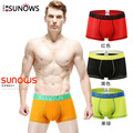 2016 Brand Clothing Mens Underwear Boxer Cotton Casual Male Men's Short Masculina De Marca Man Underpants Solid Color Plus Size