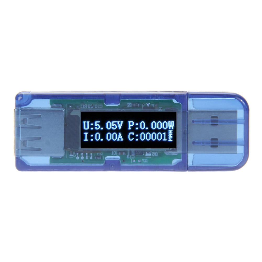 White 3 in 1 OLED Tester Power Detector USB Detector Voltmeter Ammeter Networking Cable Tester Networking Tools High Quality