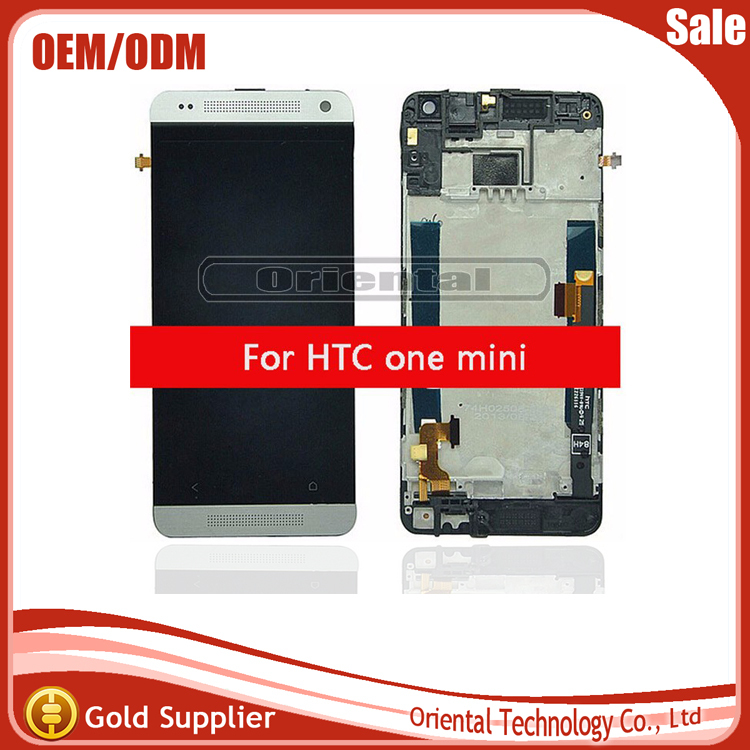 For HTC One Mini M4 601e 601s Full LCD Display Touch Screen Digitizer Glass Sensor Panel