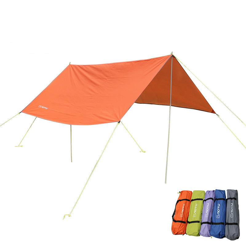 Outdoor Waterproof Large Beach Tent Awning Gazebo UV Sun Shelter Canopy Hiking Picnic Sunshade Party 3*3m Camping Tente ZYP15 large outdoor camping pergola beach party sun awning tent folding waterproof 8 person gazebo canopy camping equipment