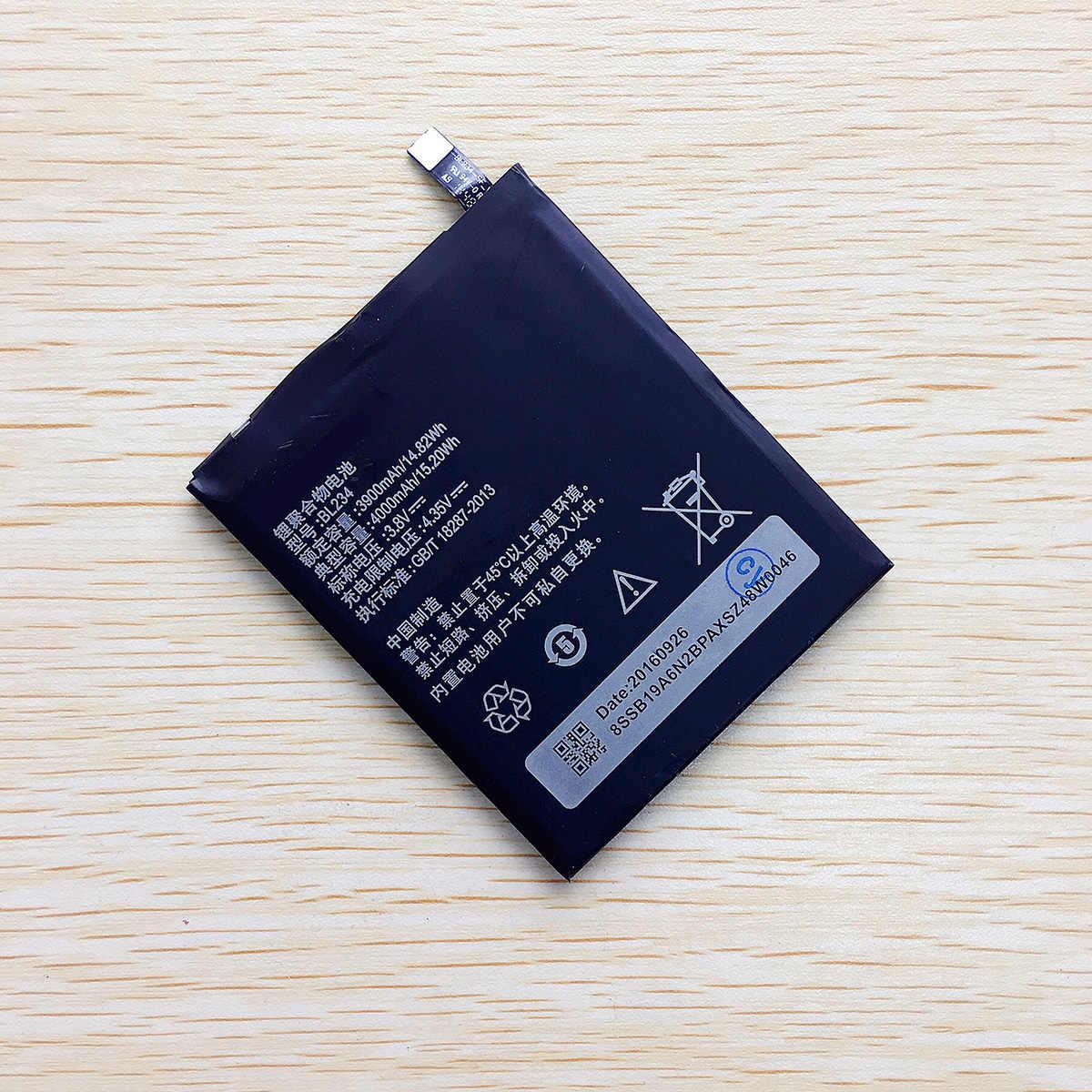 CUUSEY جديد عالية الجودة بطارية BL234 لينوفو P70 P70t P70-T P1MA40 4000 مللي أمبير الهاتف الخليوي تراكم التجزئة حزمة في الأسهم