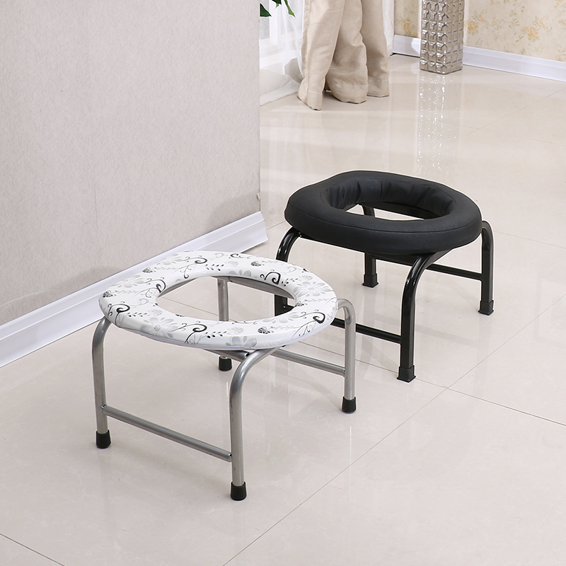 Folding Non-slip Pregnant Woman Or Old Man Sitting On The Chair Or The Stool Simple Toilet