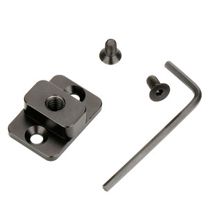 Image 3 - Camera Monitor Mounting Plate Video Extension Adapter For DJI Ronin S Gimbal Extender Stabilizer with 1/4Screw For Magic Arm Mic