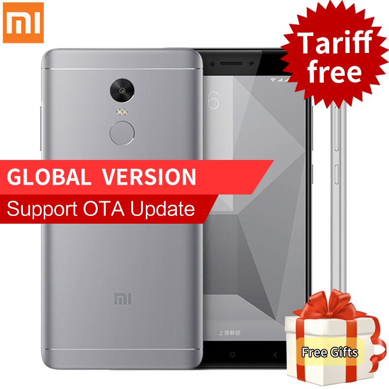 Original Global Version Xiaomi Redmi Note 4 Smartphone Snapdragon 625 5 5 1080P 3G RAM 32G