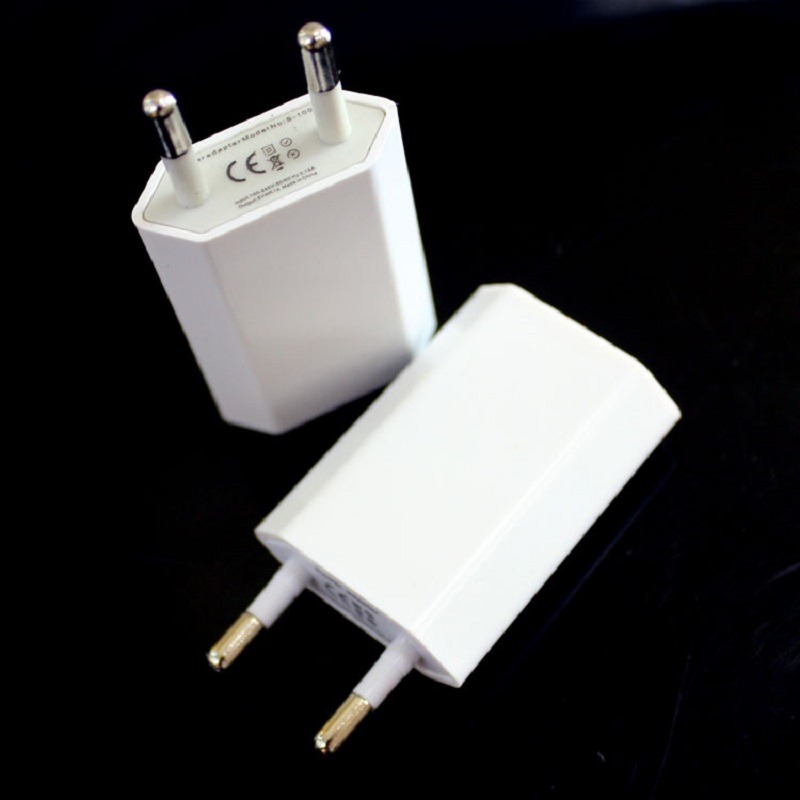 Antirr 5V 1A Wall Charger USB Travel Moblie Phone EU AC Plug Power Adapter For IPhone 4/4s/5/5s/6s/6Plus For Sumsung HTC