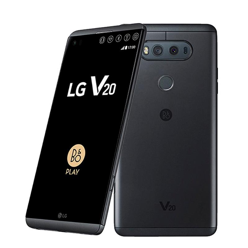 Восстановленный Оригинальный разблокированный сотовый телефон LG V20 Корейская версия F800L/S/K US-H910 5,7 дюйма Qualcomm 820 4 Гб + 64 Гб 4G-LTE Быстрая доставк...