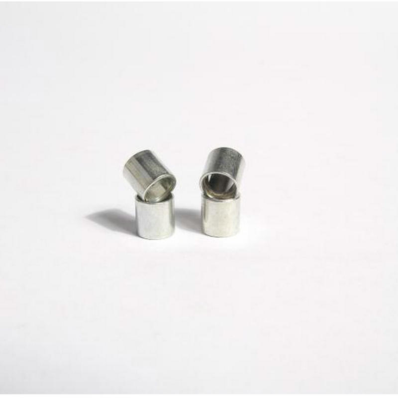 Free Shipping 8pcs Aluminium Skateboard Spacers Fish Board Parts Double Rocker Spacers 4pcs Spacers