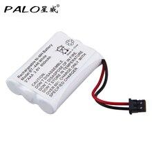 Аккумуляторная батарея PALO 3,6 В 800 мА · ч AAA NiMH для телефона, сменный комплект с перезаряжаемой батареей для телефона, BP 446, с зарядным устройств...