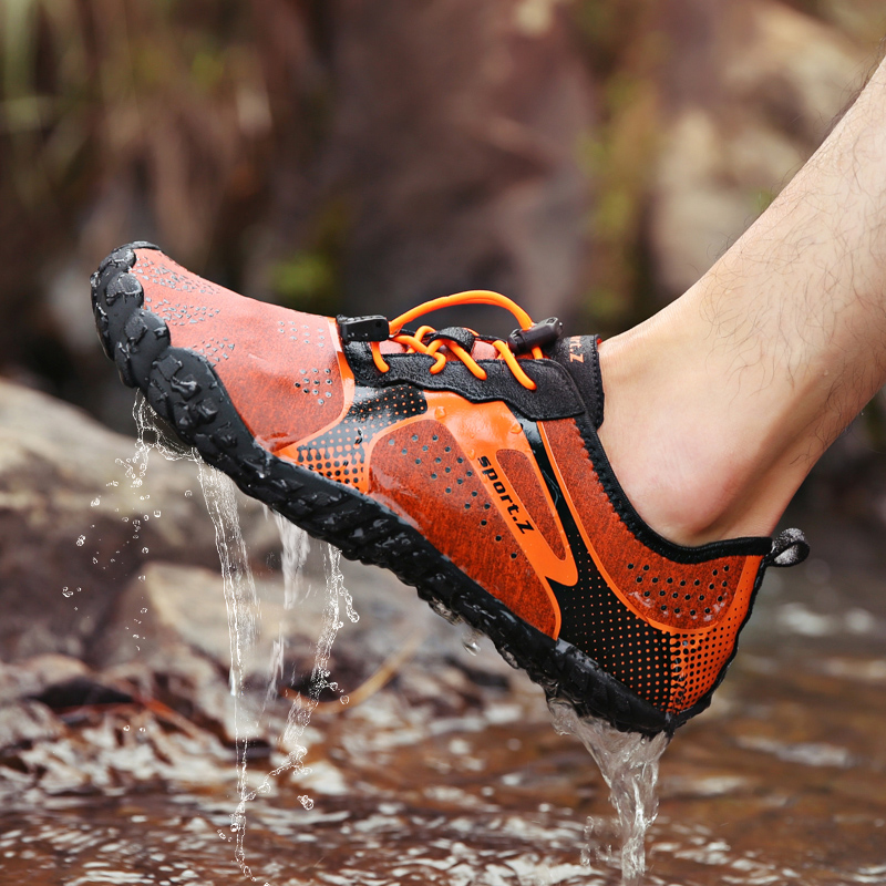 Water-Shoes Sports-Sneakers Fitness Men Barefoot Lightweight Outdoor Summer