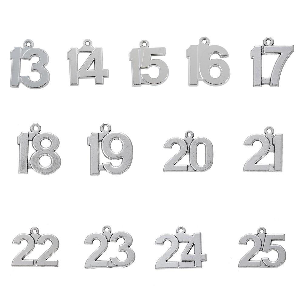 Skyrim 20 шт. 13-25, счастливый номер, фотоэлемент для рукоделия, подвеска 13 14 15 16 17 18 19 20 21 22 23 24 25