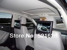 Новый! Hd экран планшет подголовник автомобиля mp5-плеер, Видео / музыкальный плеер, Fm, Ик, Sd, Usb ( 3 цветов : бежевый / серый / черный )