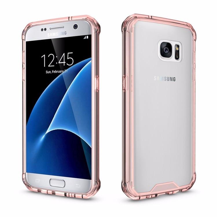 Samsung Galaxy S7 üçün Kristal Təmiz Arxa Panel Qabıqlı Ultra - Cib telefonu aksesuarları və hissələri - Fotoqrafiya 5