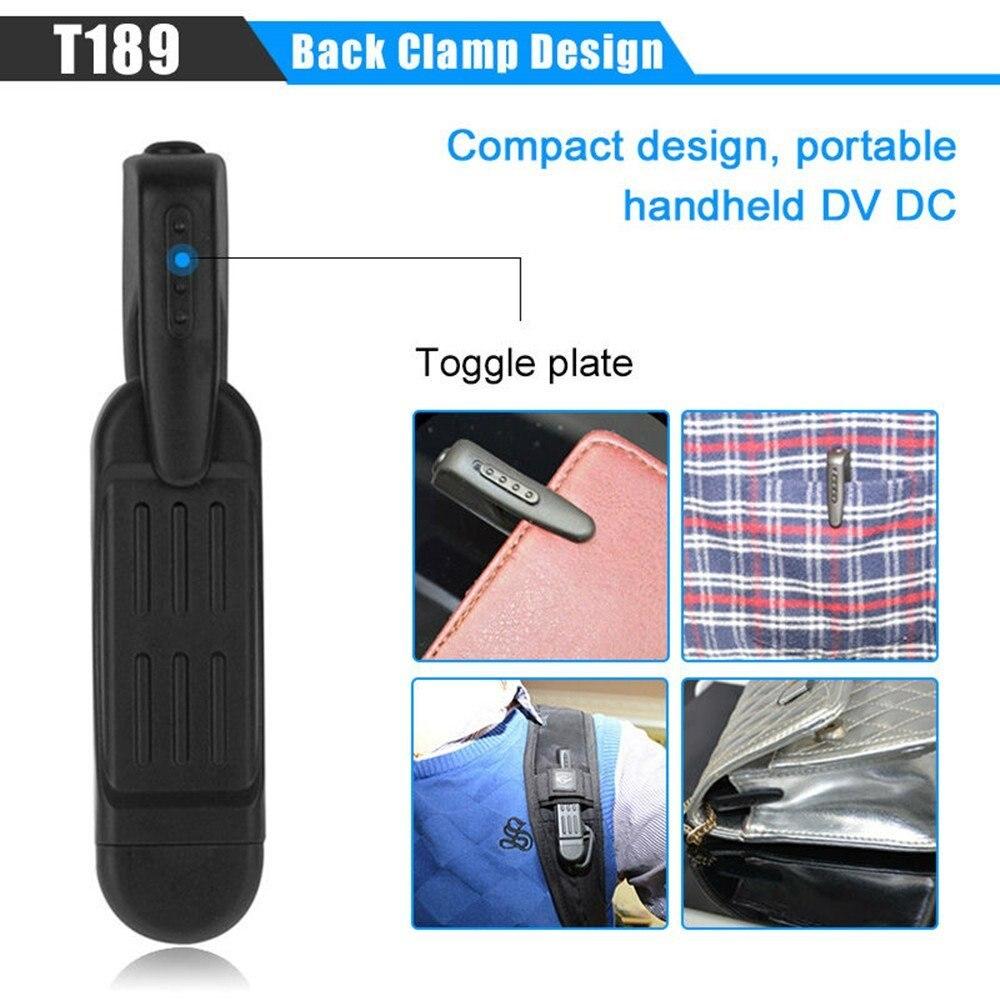 T189 Mini Kamera Full HD 1080 P Geheime Kamera Tragbare Kleinen Stift kamera Mini DVR Digital Mini-DV Kamera Espia Unterstützung 32 GB Karte
