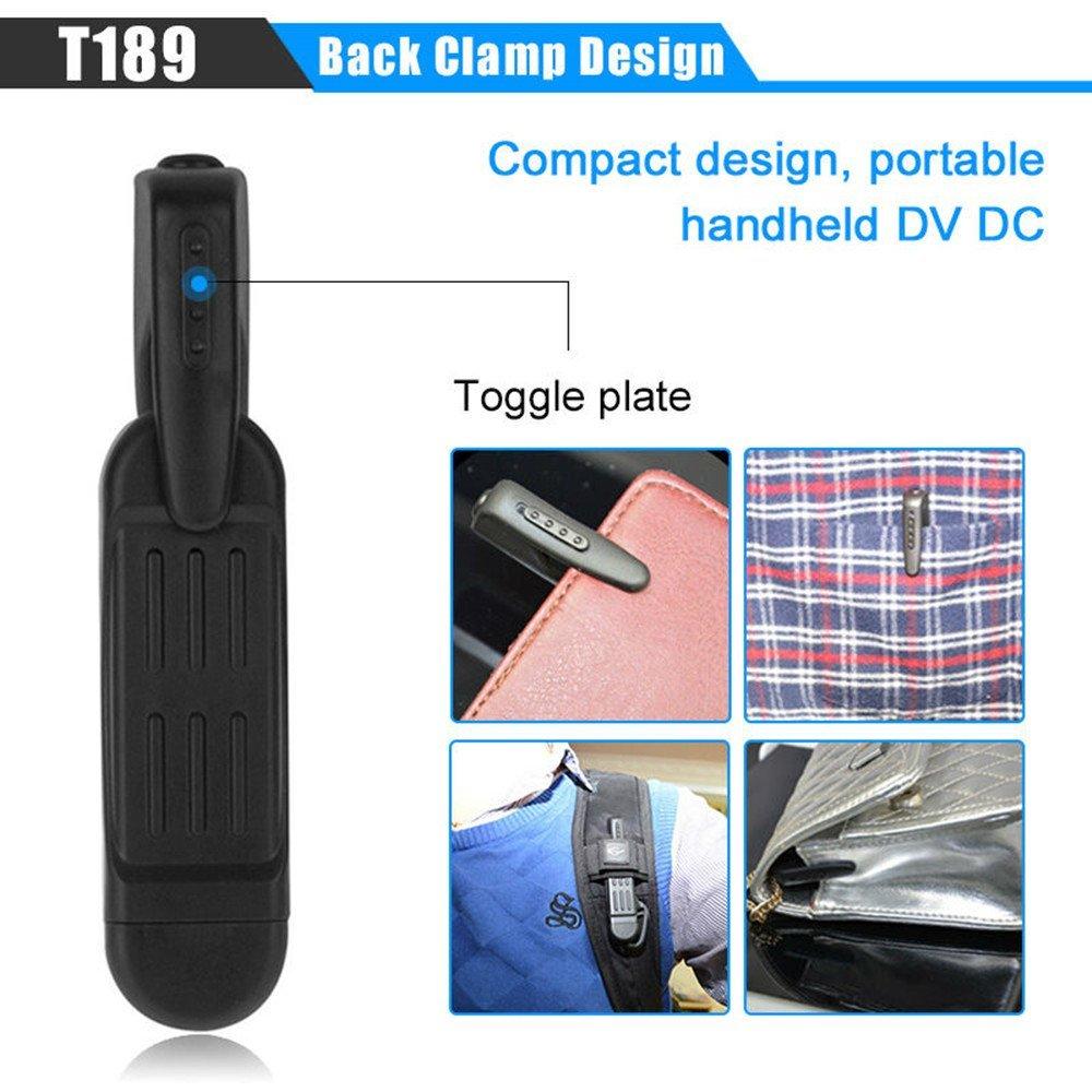 T189 Mini Telecamera Full HD 1080 P Macchina Fotografica Segreta Indossabile Piccola Penna Camera Mini DVR Mini DV Fotocamera Digitale Espia Supporto 32 GB Scheda