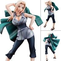 22cm Anime Naruto Hyuuga Hinata Tsunade Sakura Haruno Figure Toys Naruto Shippuden Megahouse PVC Action Figure Collectible Toy