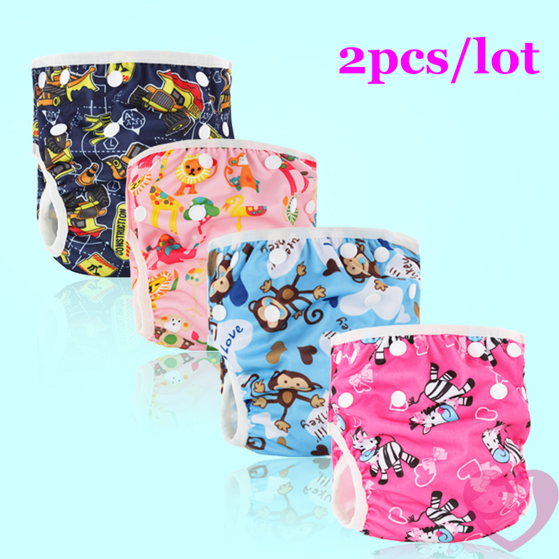 Baby Swim Diaper Pant Washable Reusable One Size Breathable Cover Reusable Pants -5996