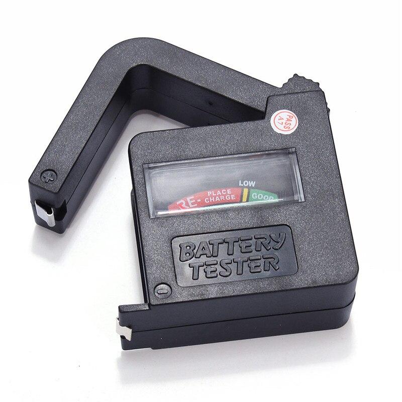 Тестеры аккумуляторов AAA/aa/C/D/1.5 В/9 В Портативный ручной Универсальный кнопки сотового Батарея вольт тестер BT-860 новое поступление