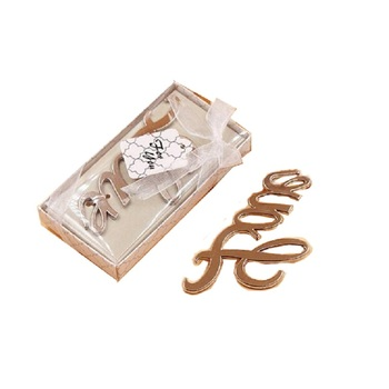 20pcs/Lot Metal Love Opener Wedding Guest Gift Anniversary Party Favor Valentine With Gift Box